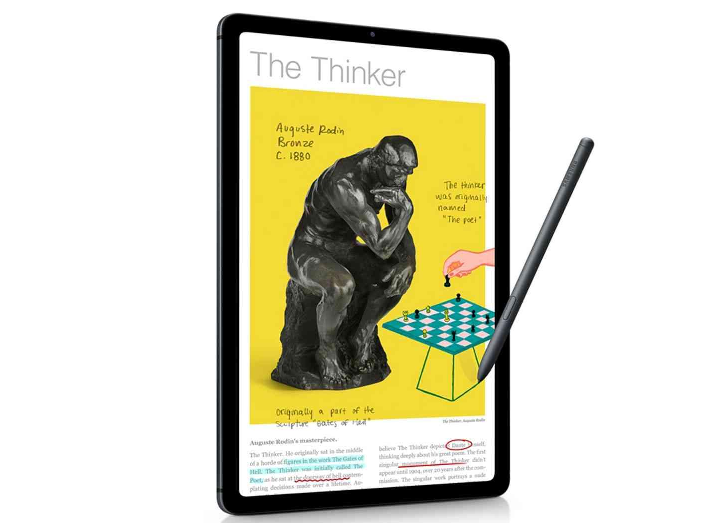 Samsung Galaxy Tab S6 Lite official