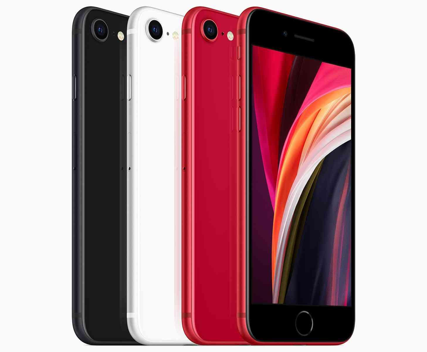 iPhone SE 2020 colors