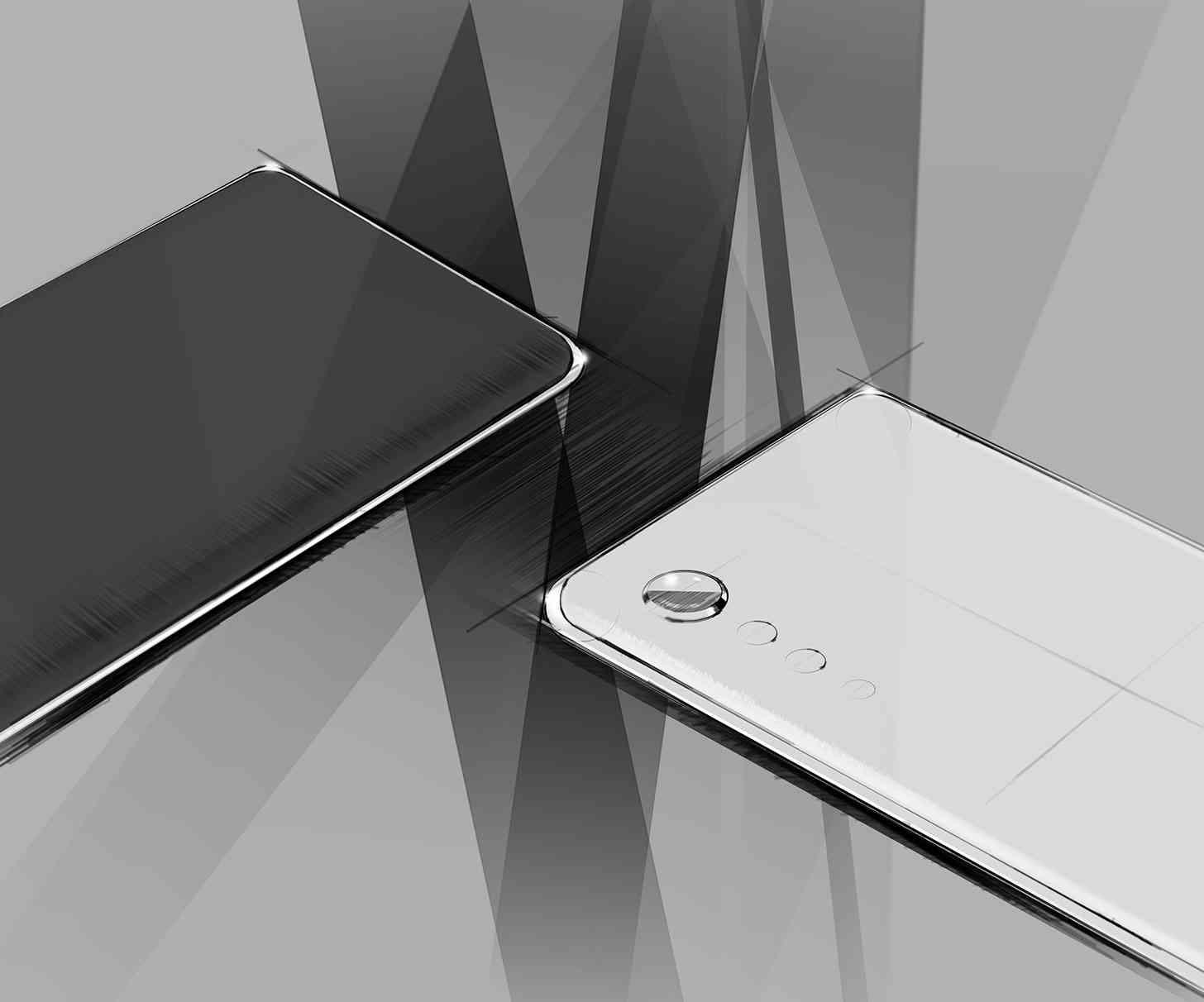 LG phone minimalistic phone design