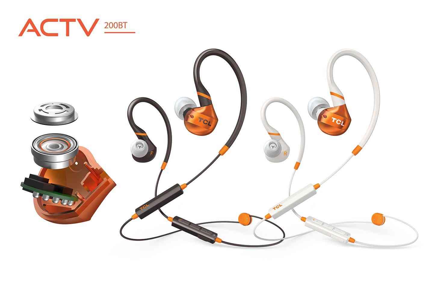 TCL ACTV200BT earphones