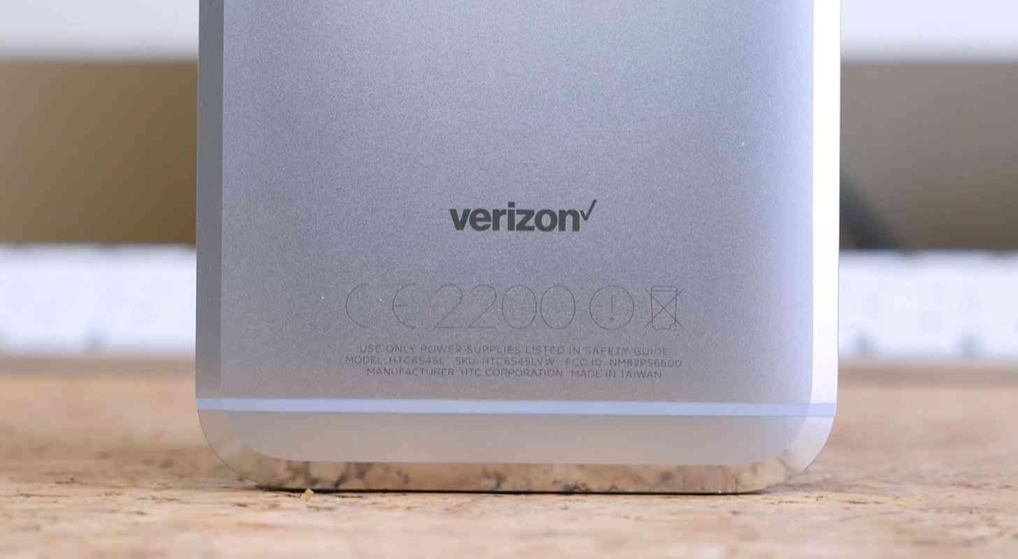 Verizon logo HTC 10