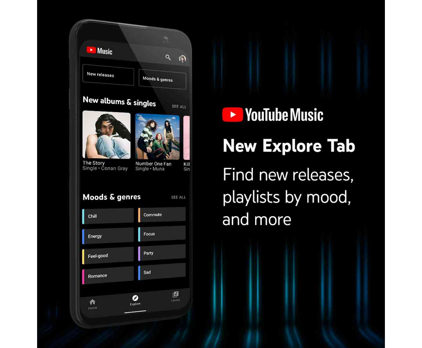 Youtube Music App Gaining Explore Tab To Help You Discover New Music News Wirefly