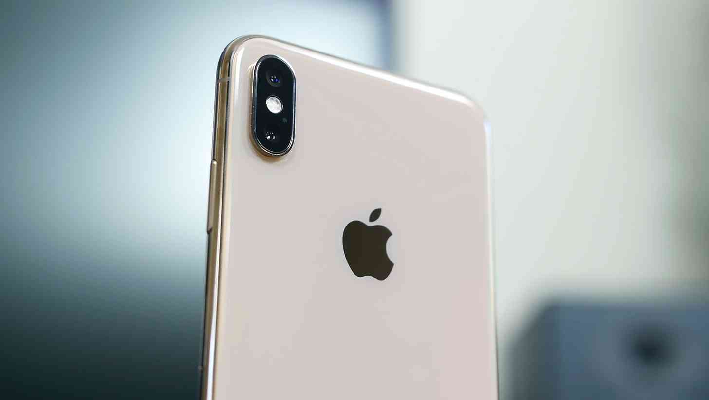 Apple logo iPhone XS Max