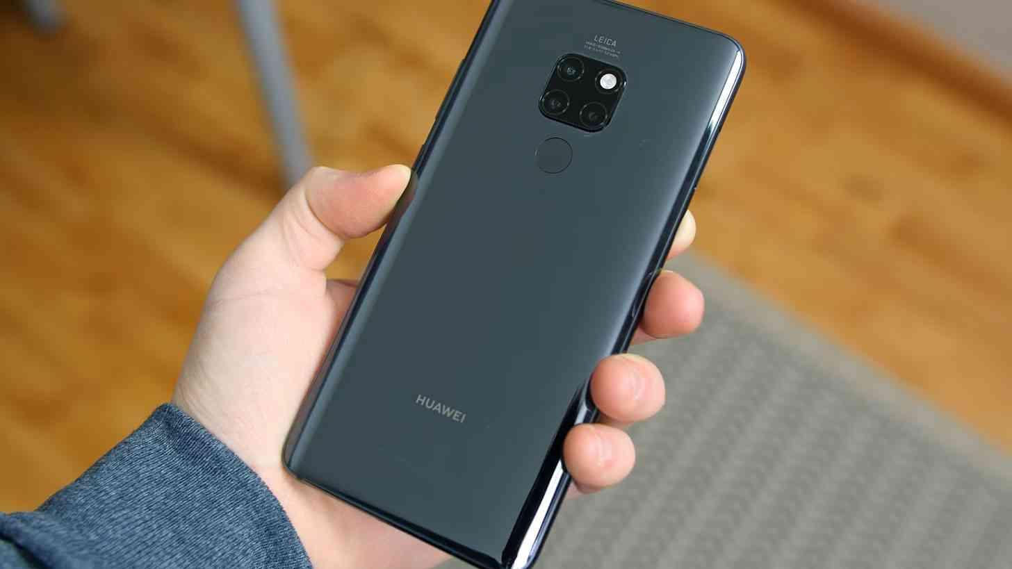 Huawei P20 unboxing