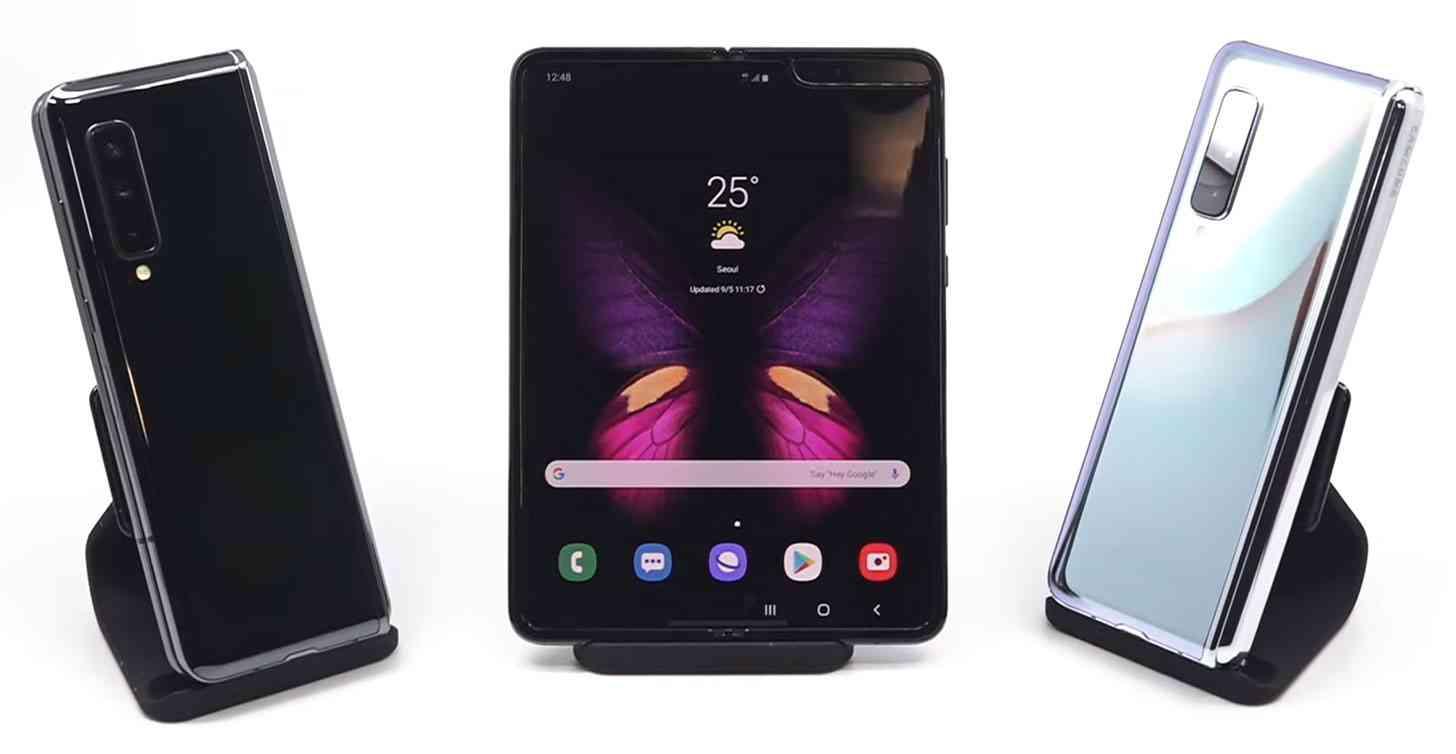 Samsung Galaxy Fold video