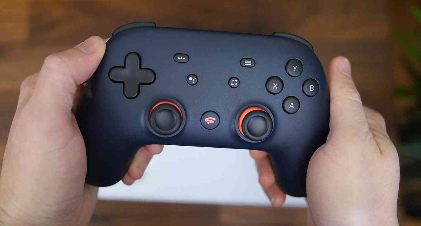 Google Stadia controller Founder's Edition