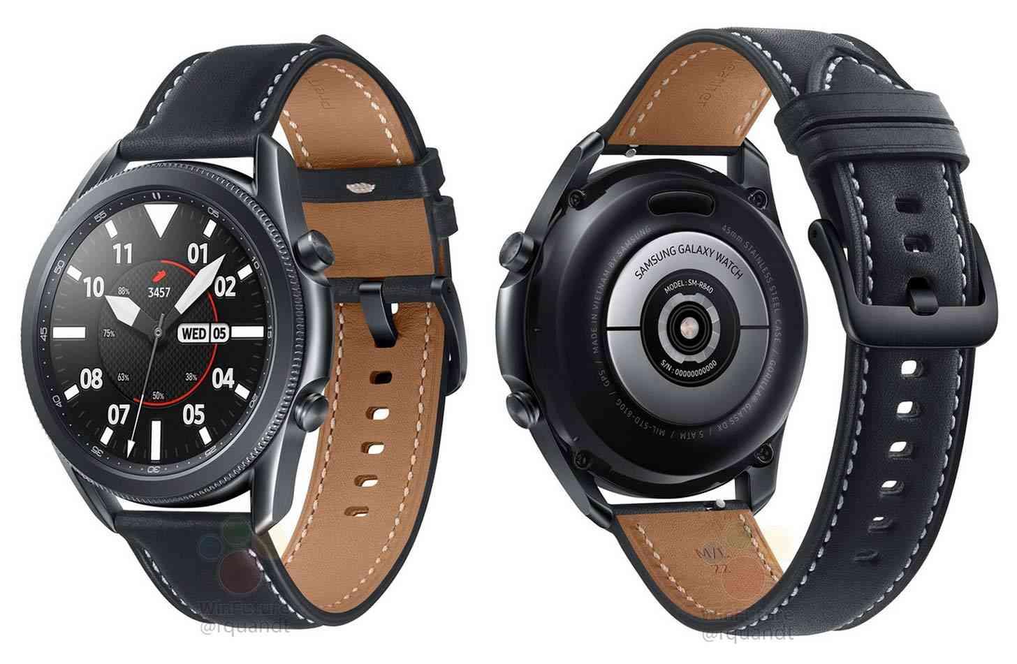Samsung Galaxy Watch 3 45mm leak