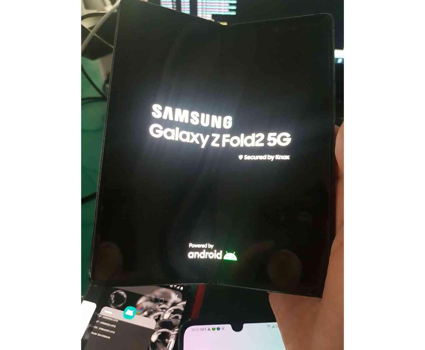 Samsung Galaxy Z Fold 2 hands-on photo leak