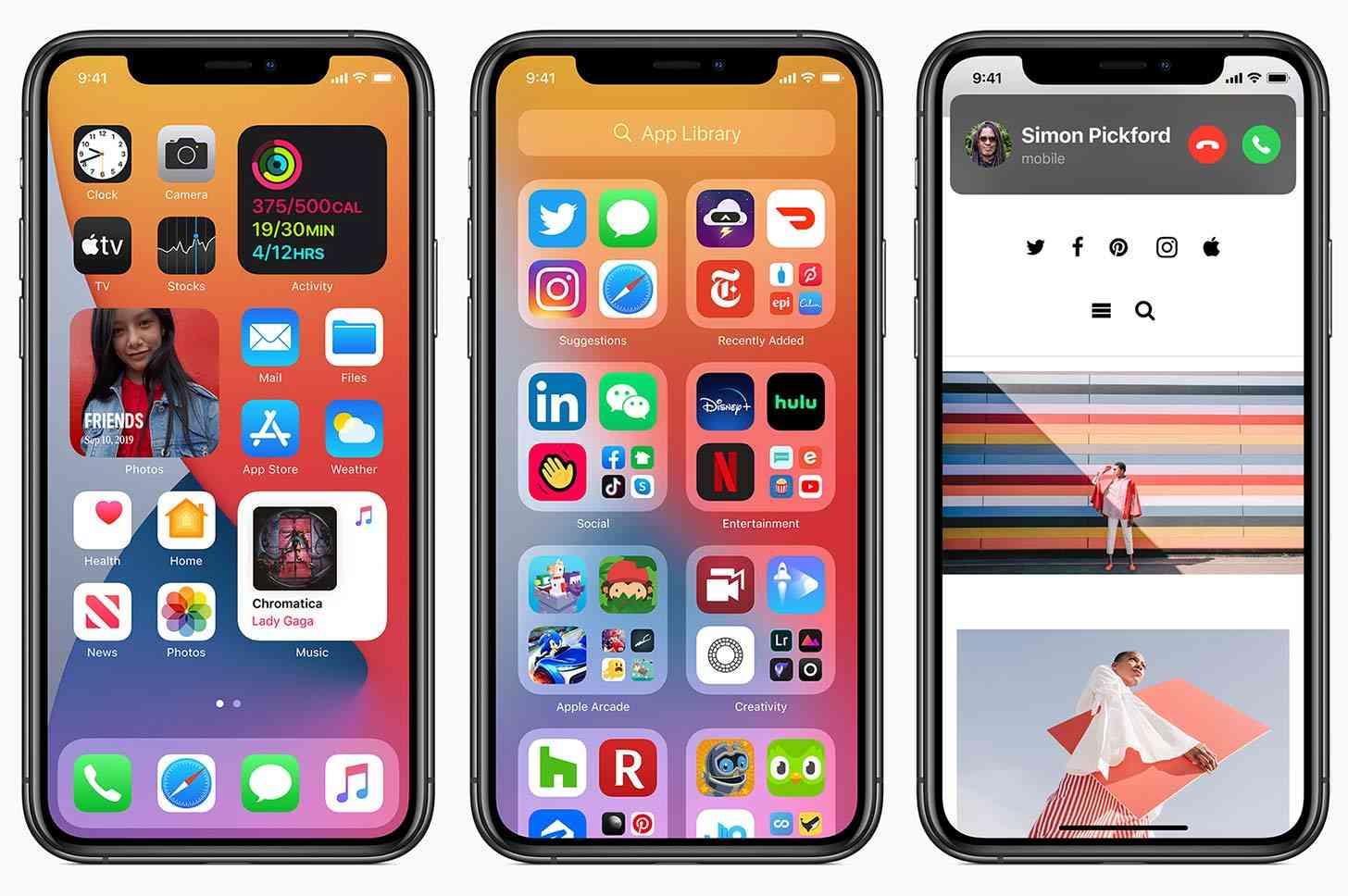 iOS 14 widgets, App Library
