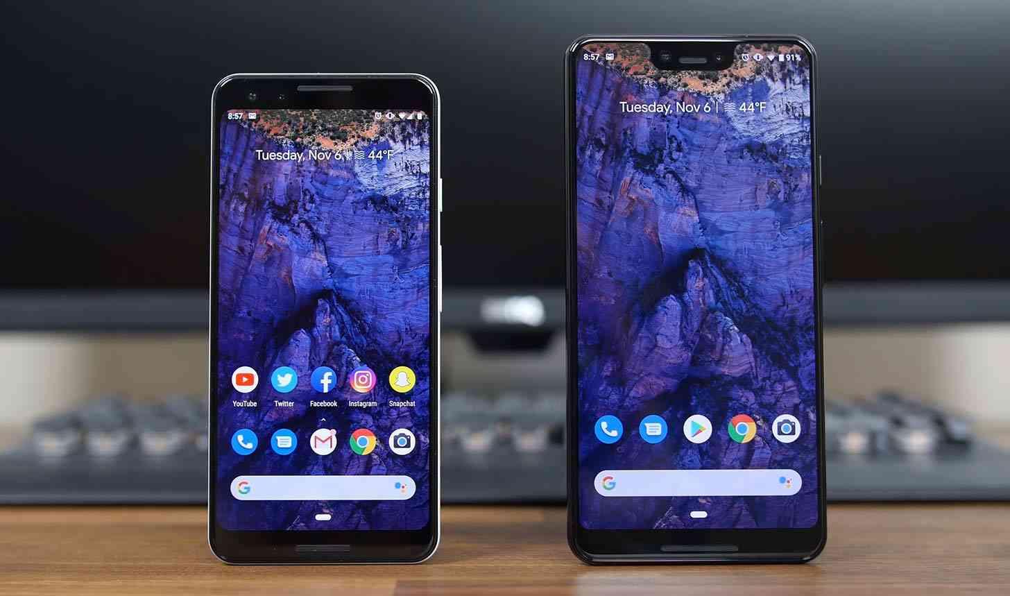 Pixel 3, 3 XL comparison