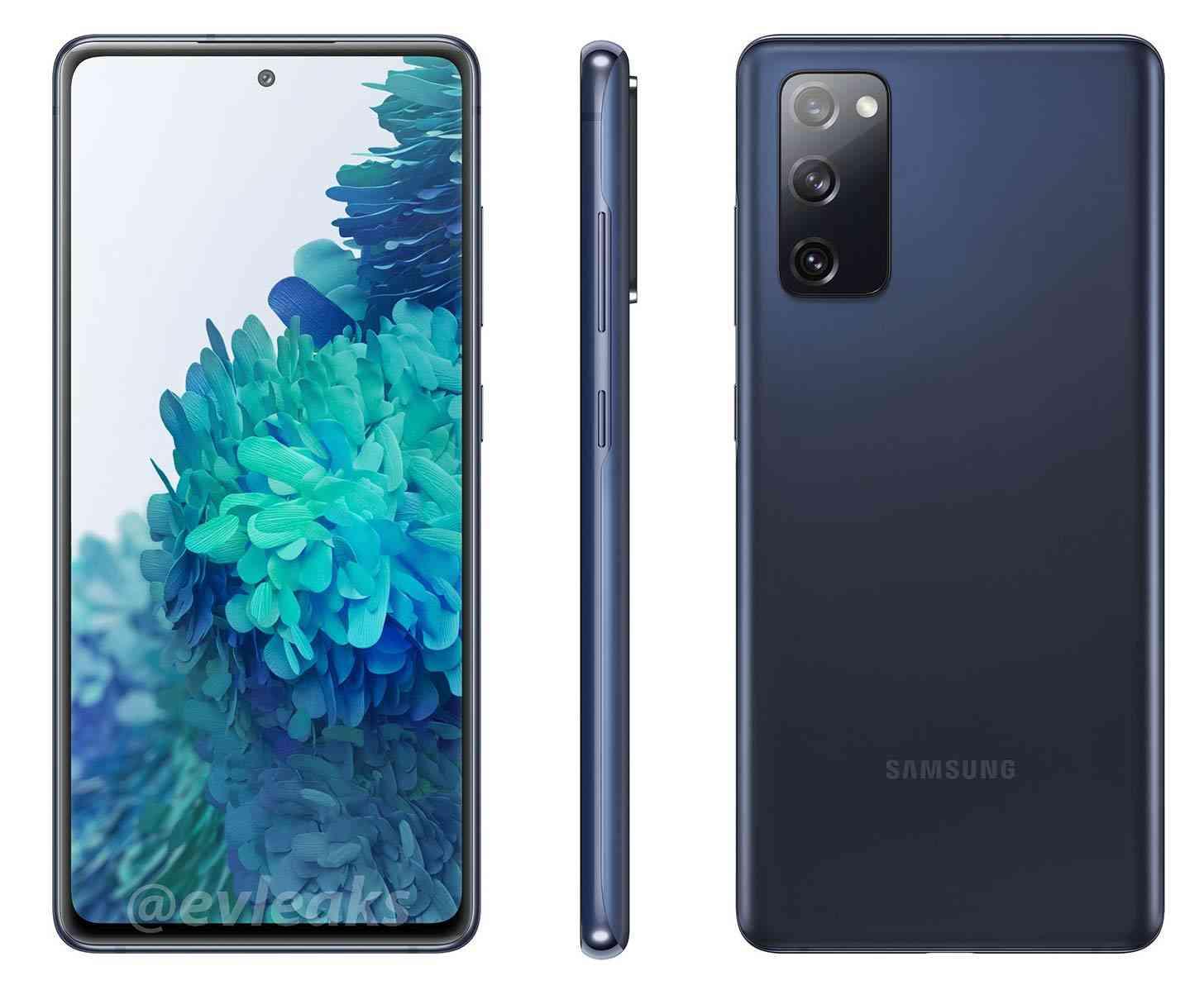 Samsung Galaxy S20 FE 5G blue