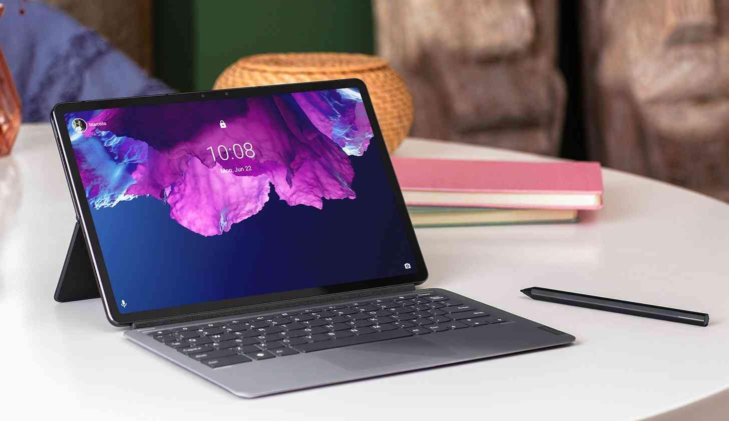 Lenovo Tab P11 Pro keyboard, stylus