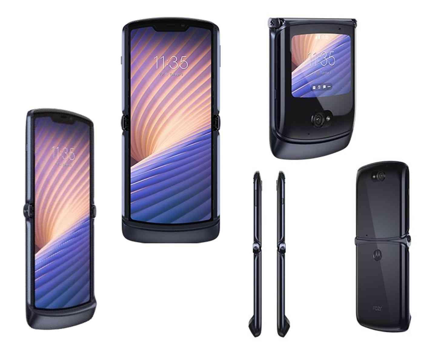 Motorola Razr 5G images leak