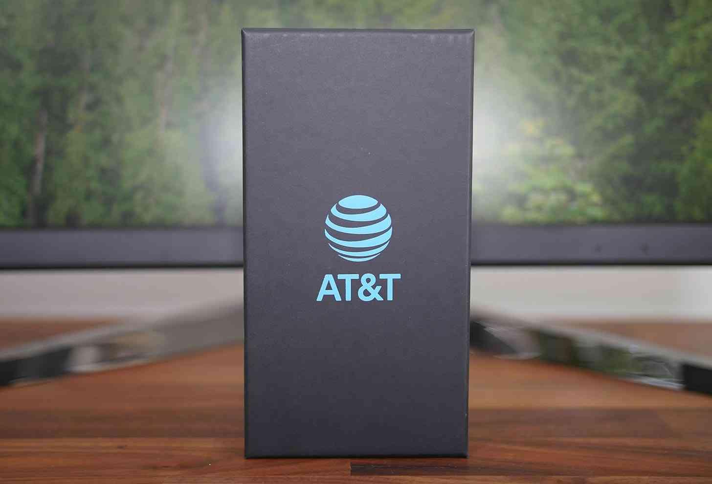 AT&T logo box