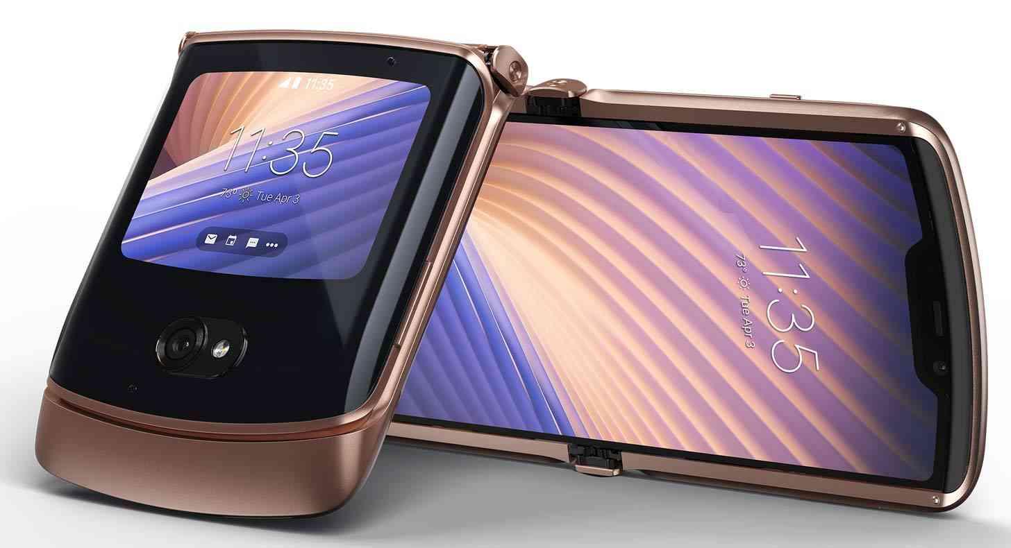 Motorola Razr 2020 Blush Gold