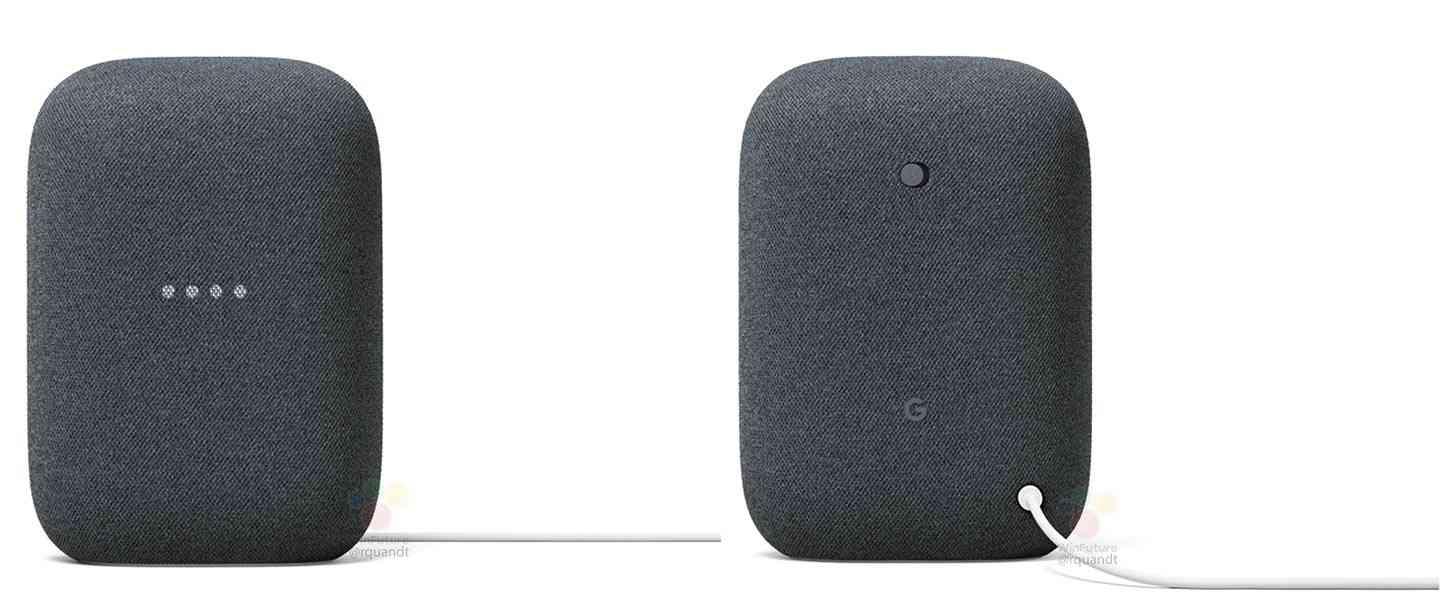 Nest Audio smart speaker charcoal leak
