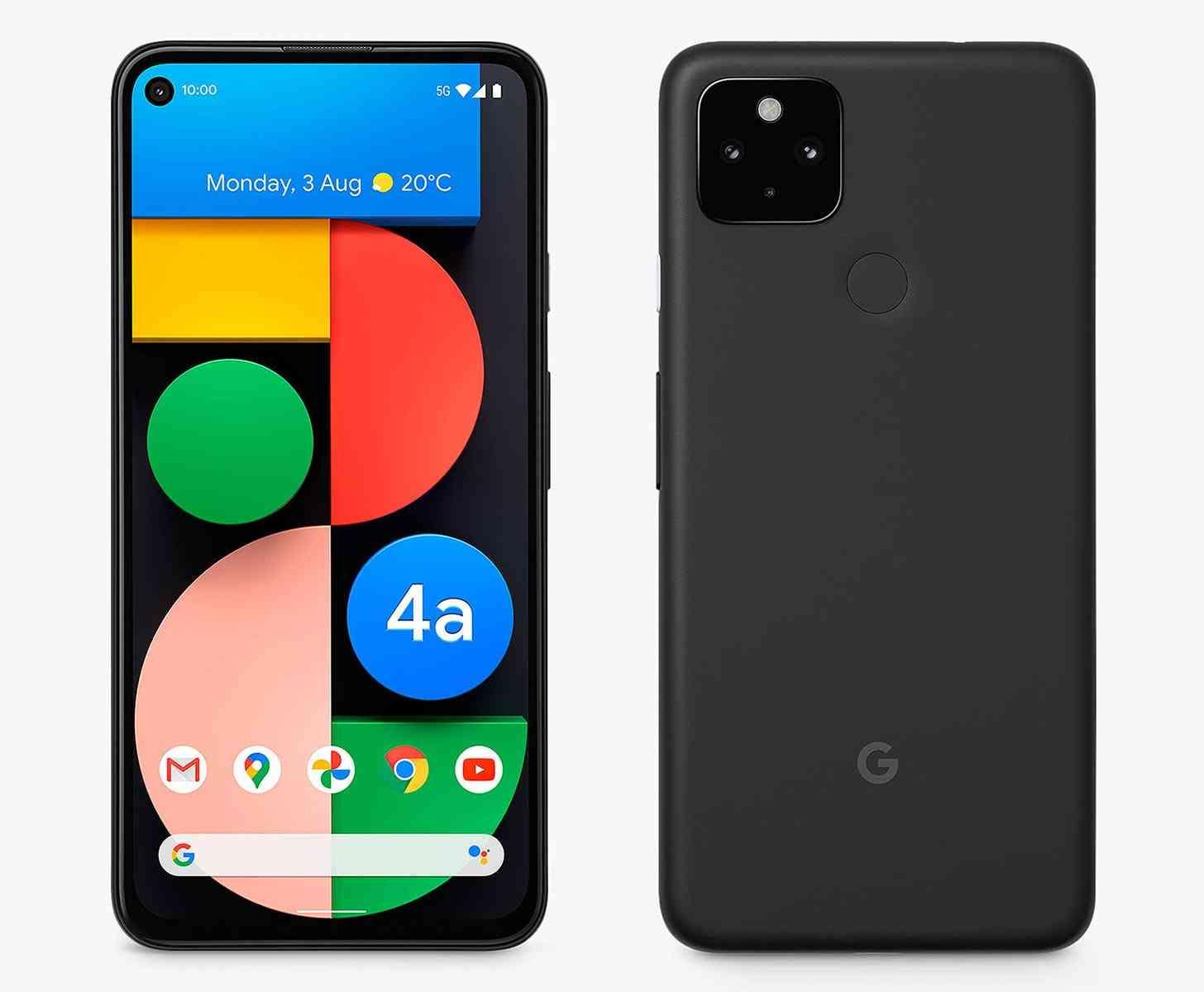 Google Pixel 4a 5G leak