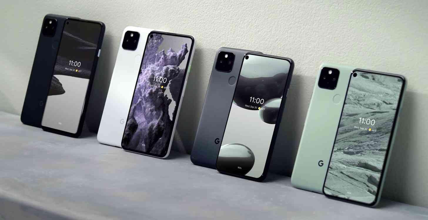 Google Pixel 5, Pixel 4a 5G official