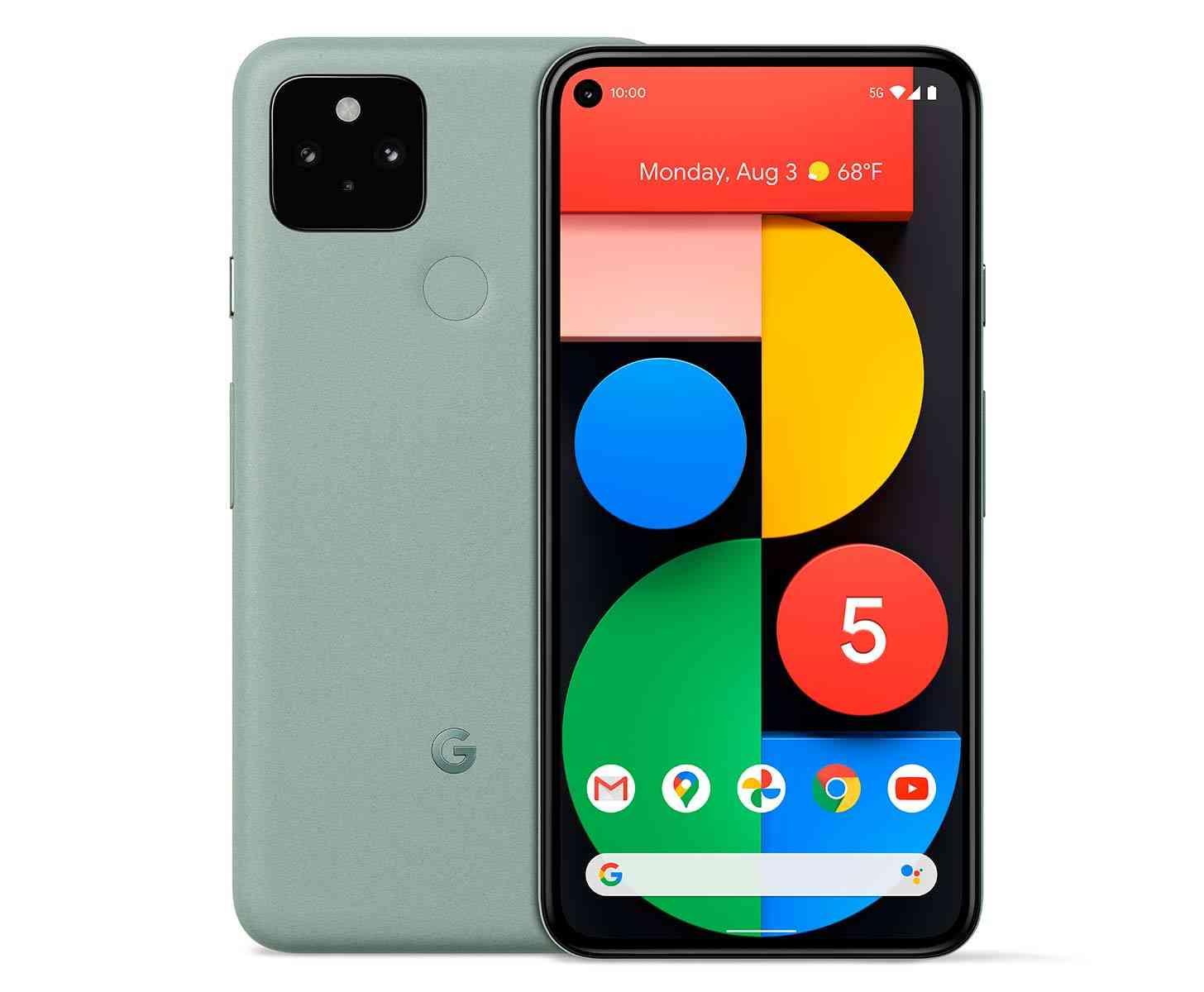 Google Pixel 5 Sorta Sage