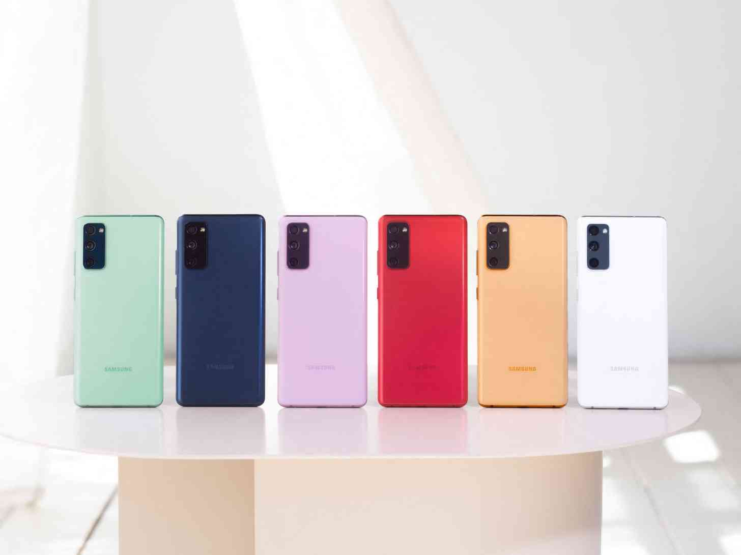 Samsung Galaxy S20 FE all colors