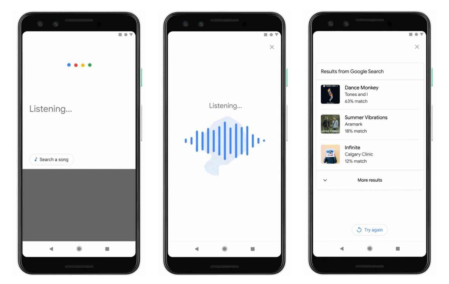 Google identify song humming