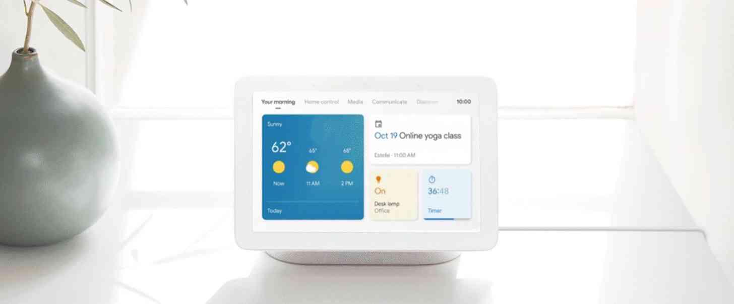 Google Assistant smart display update new UI