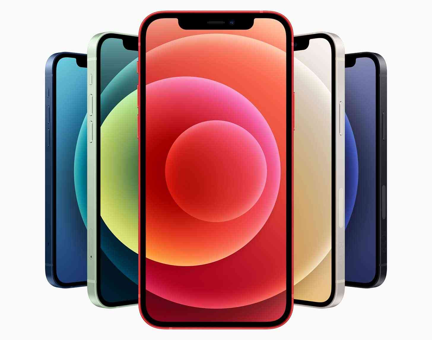 iPhone 12 colors official