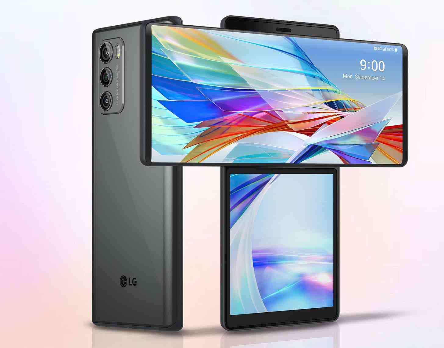LG Wing 5G swivel display