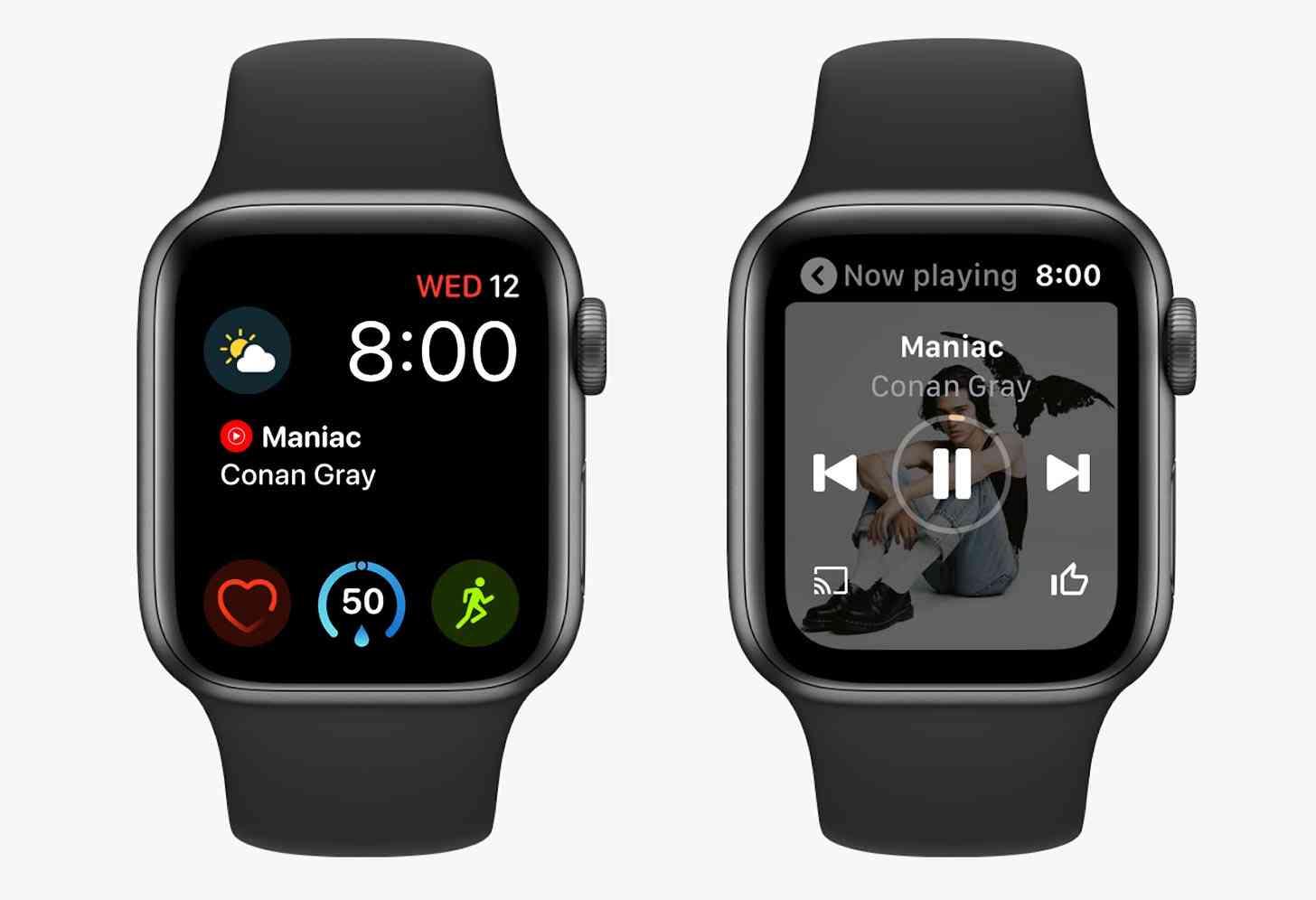 YouTube Music Apple Watch app
