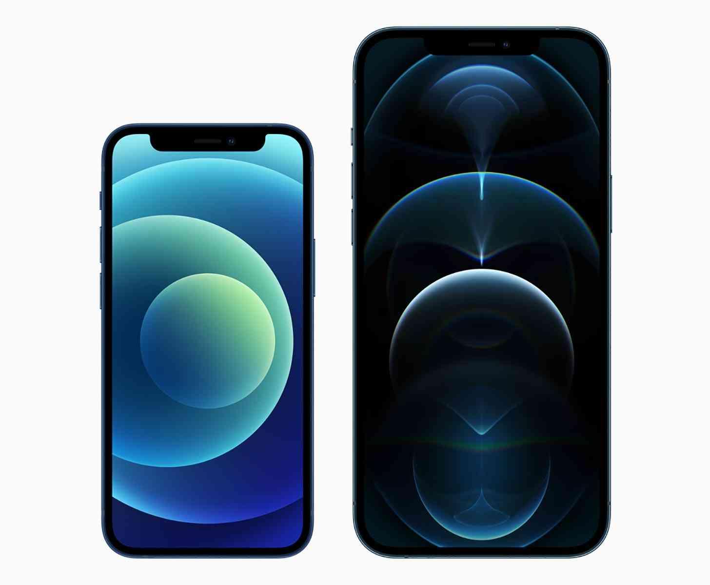 iPhone 12 mini, iPhone 12 Pro Max