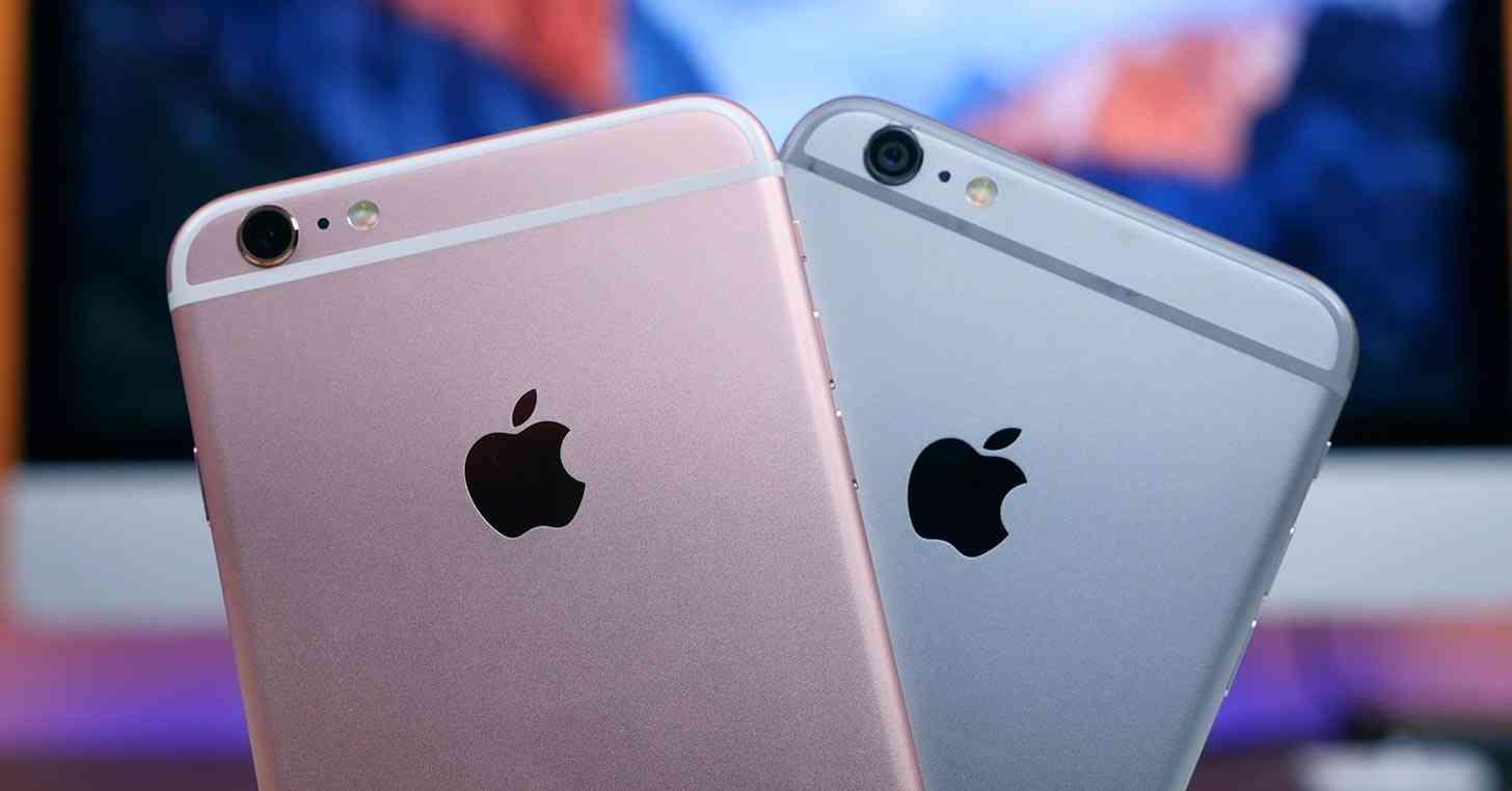 iPhone 6s, iPhone 6 comparison