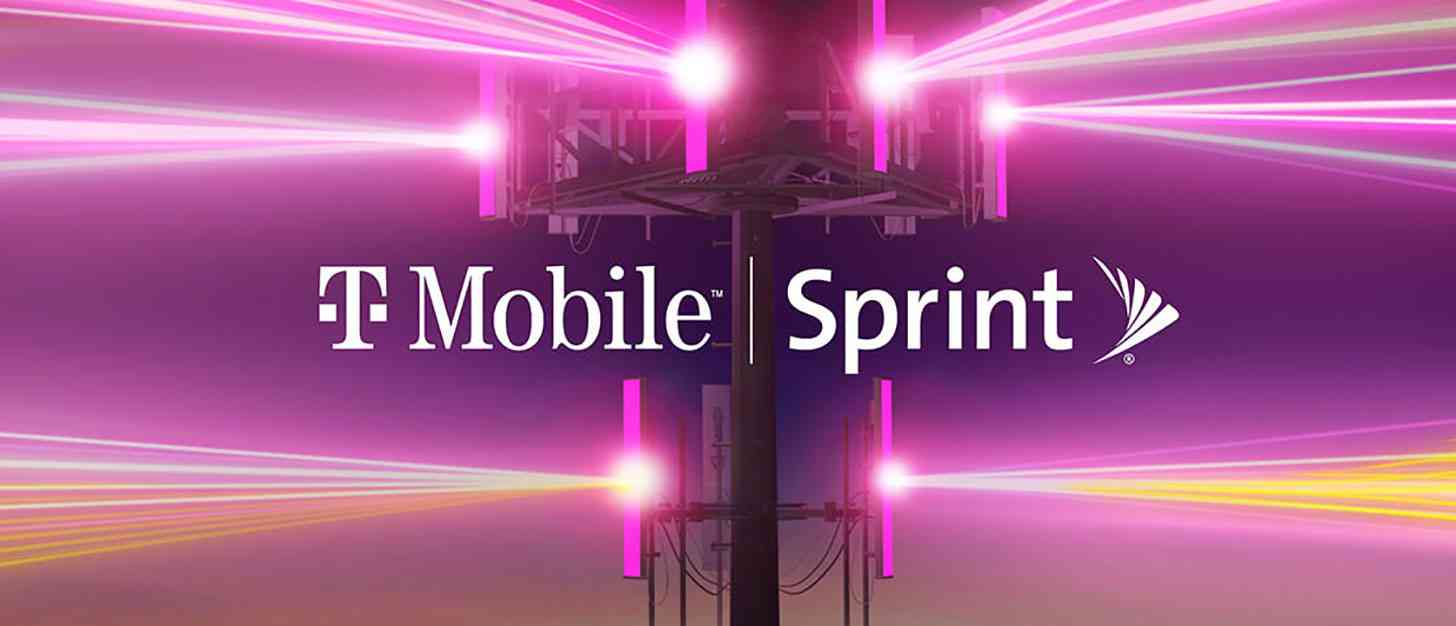 T-Mobile, Sprint logos