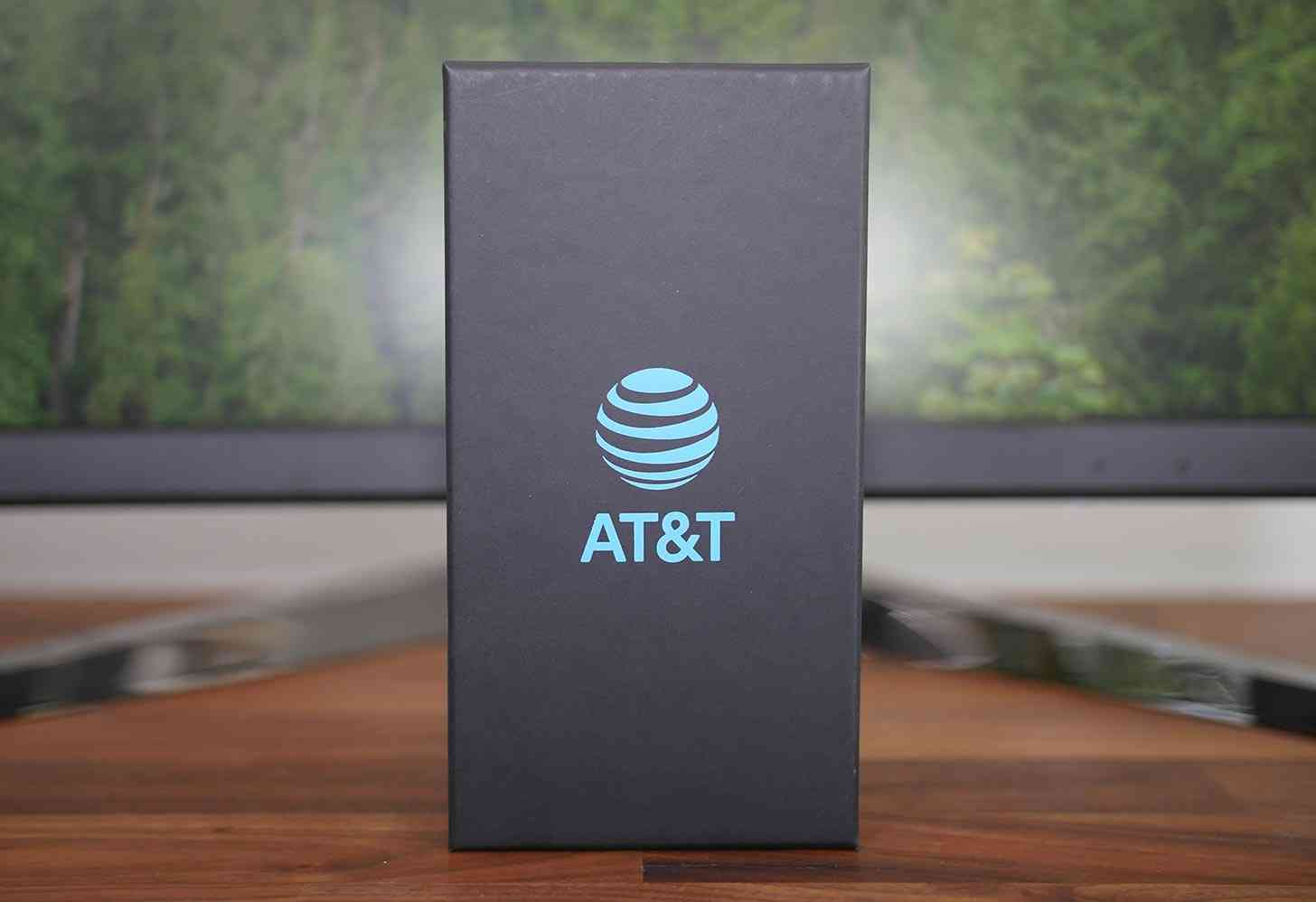 AT&T logo packaging