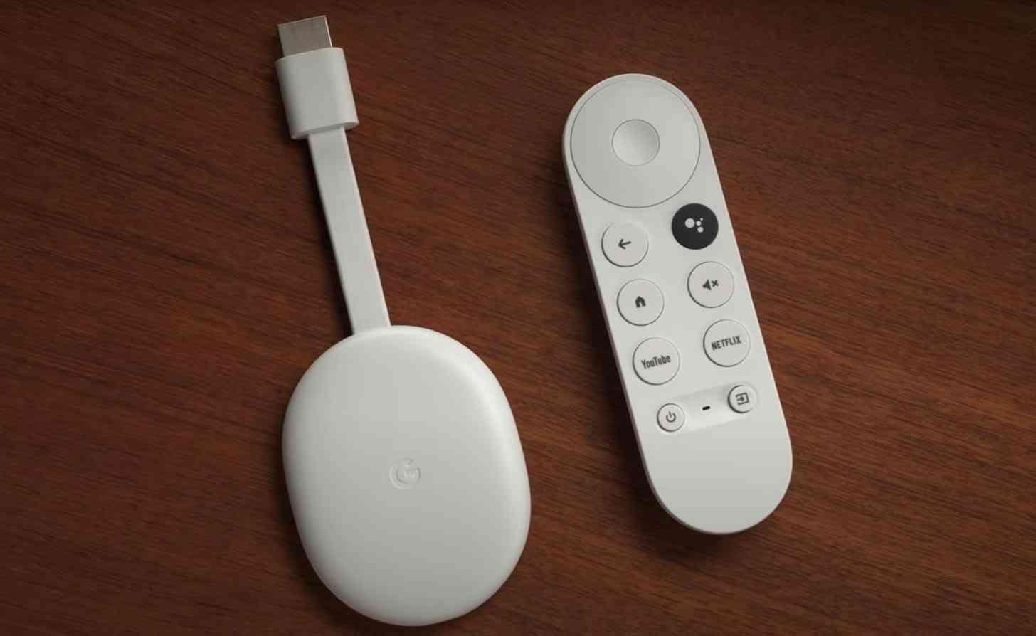 Chromecast with Google TV white