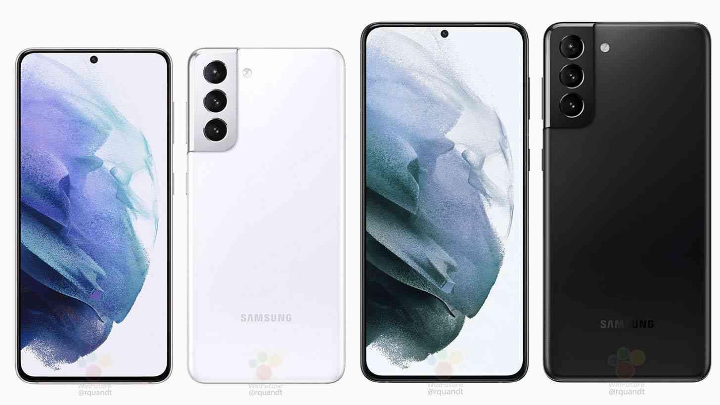 Samsung Galaxy S21, S21+ leak