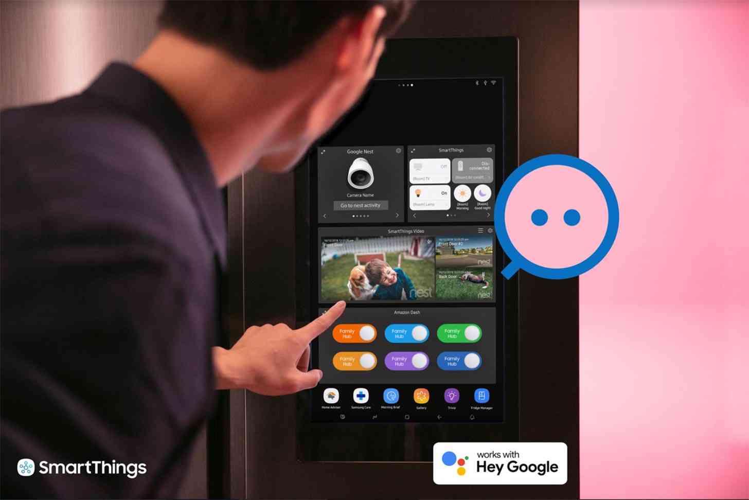 Google Nest, Samsung SmartThings
