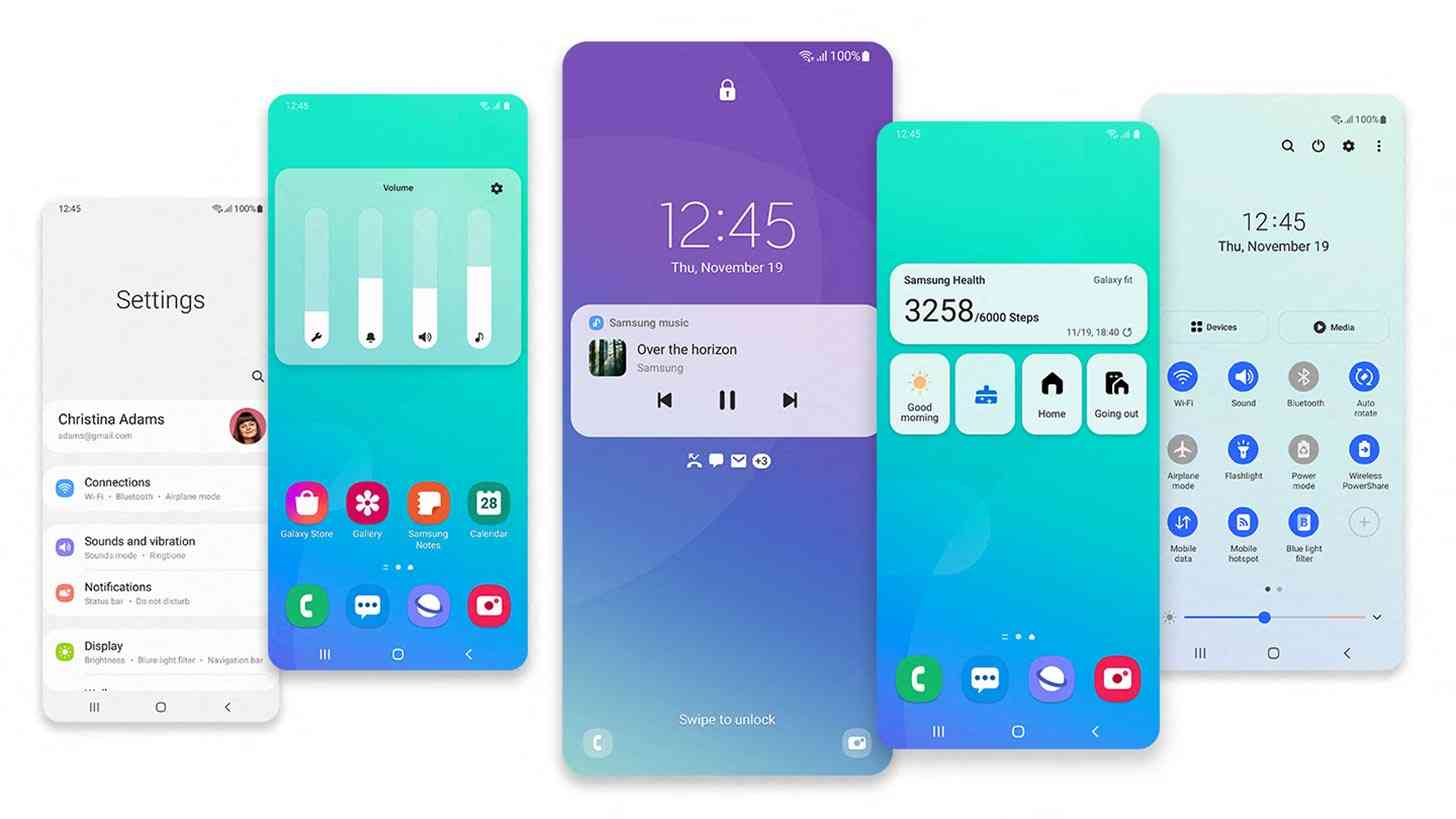 Samsung One UI 3 features
