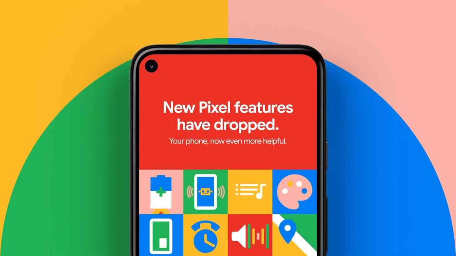 Pixel Feature Drop update official