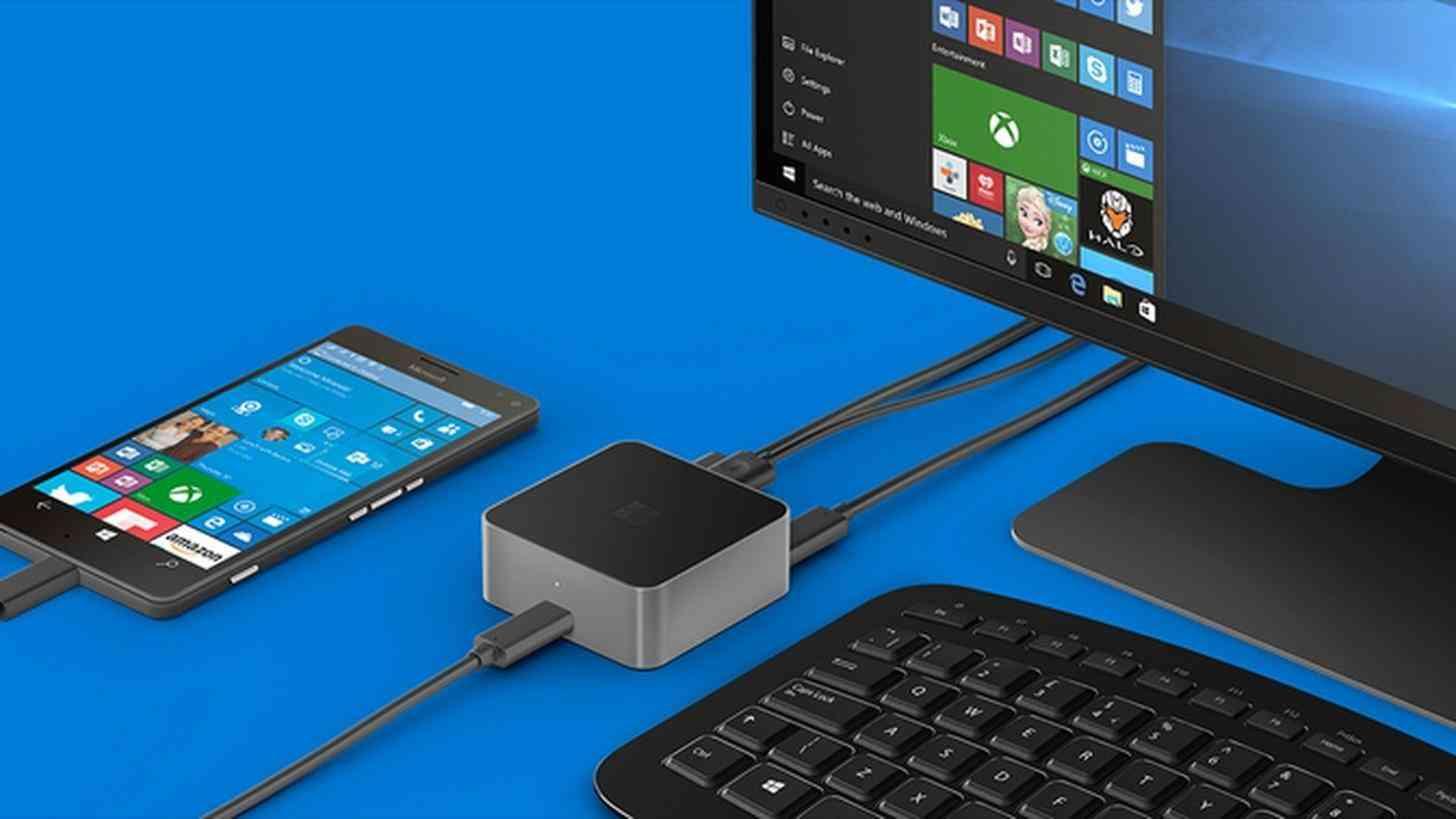 Microsoft Windows 10 Mobile Continuum
