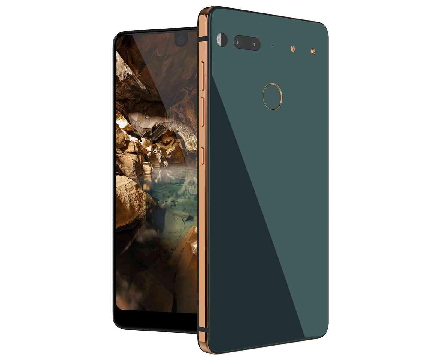 Essential Phone Ocean Depths color official