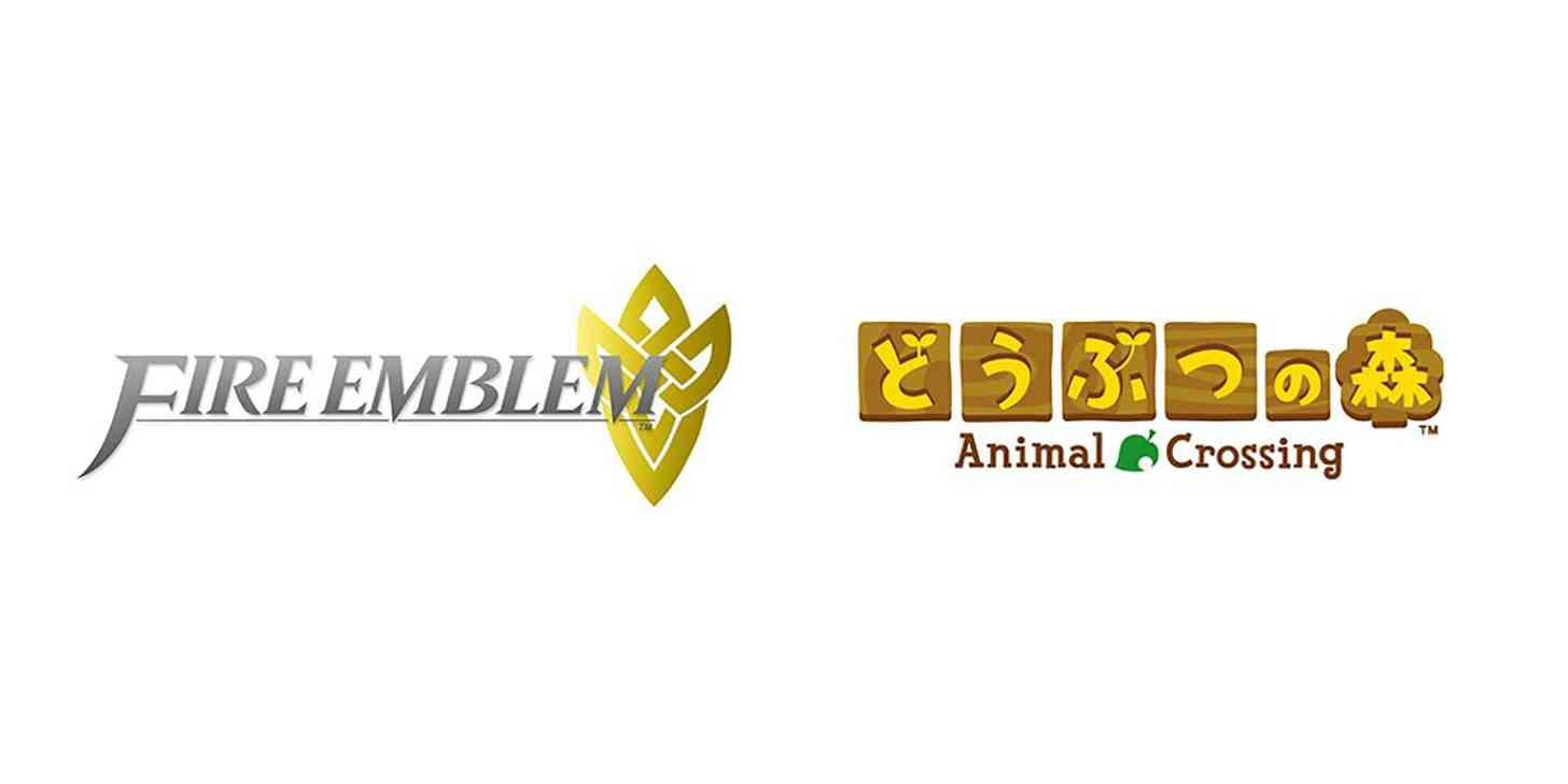 Fire Emblem Animal Crossing logos