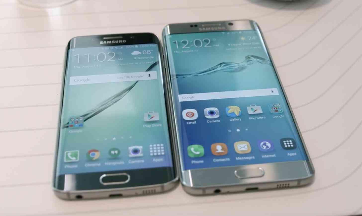Samsung Galaxy S6 edge, S6 edge+ hands-on
