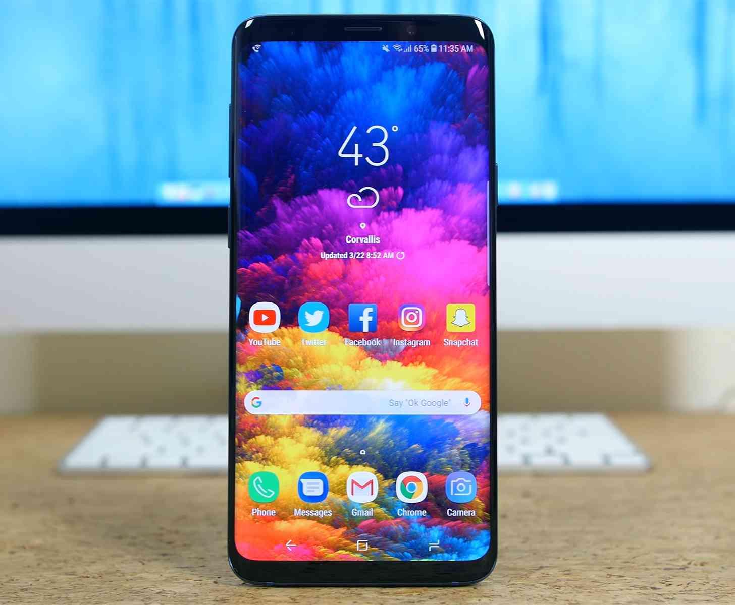 Samsung Galaxy S9+ hands-on video