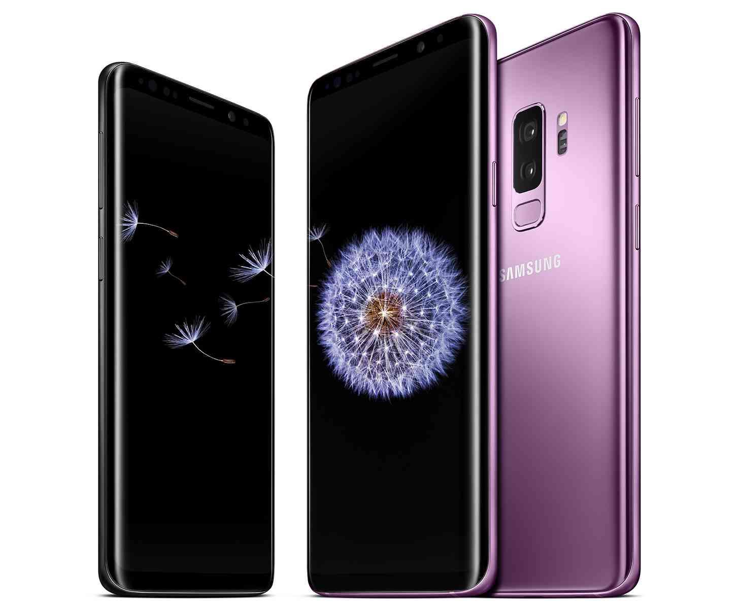 Samsung Galaxy S9, Galaxy S9+ trio