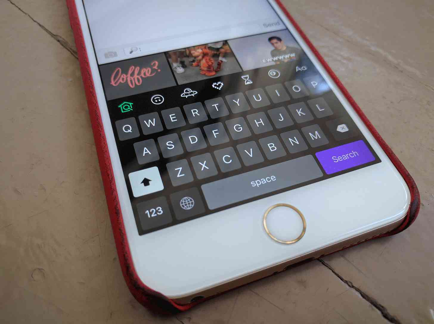 how to add giphy to keyboard iphone
