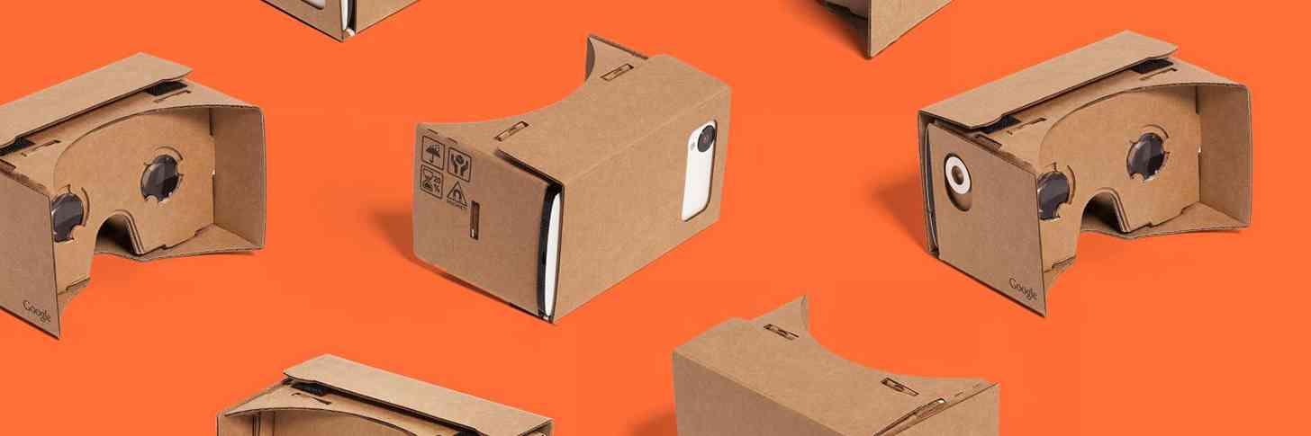 Google Cardboard headsets