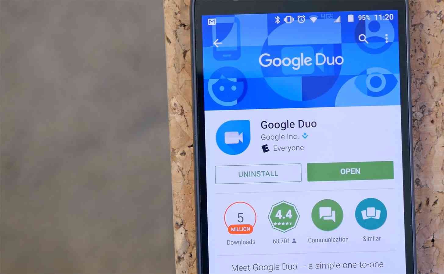 Google Duo Play Store