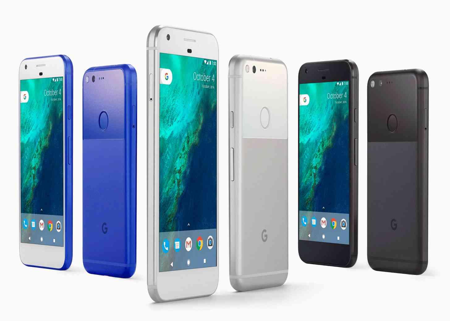 Google Pixel, Pixel XL colors