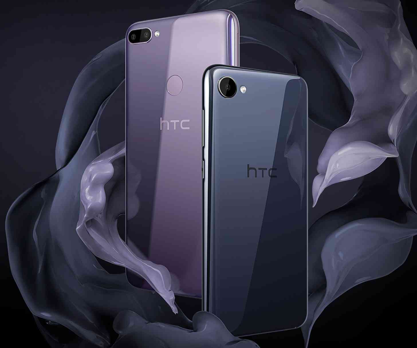 HTC Desire 12, Desire 12+ official