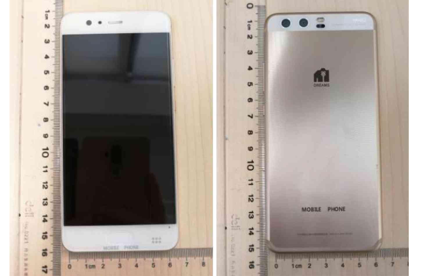 Huawei P10 images leak FCC